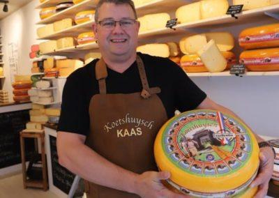 Koetshuysch kaaswinkel Hollandse kaas Leeuwarden