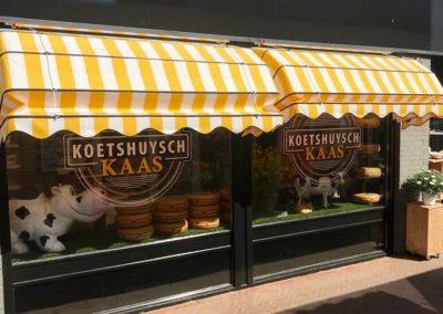 Koetshuysch kaas Zuidhorn nieuwe winkel